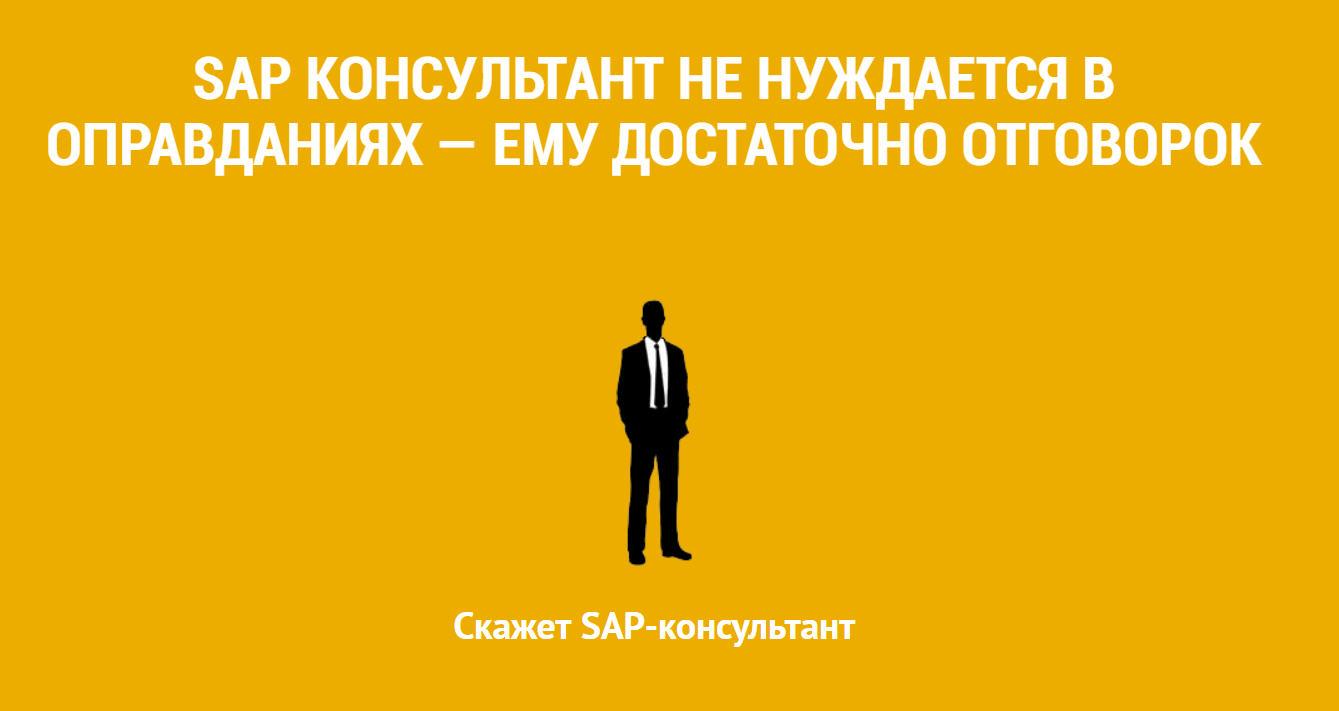SAP -резюме консультанта