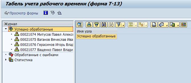 Bildung der T-13-Form im SAP HCM-System 70